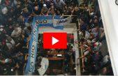 VIDEOS / Los trabajadores del Astillero Río Santiago tomaron el Ministerio de Economía en La Plata