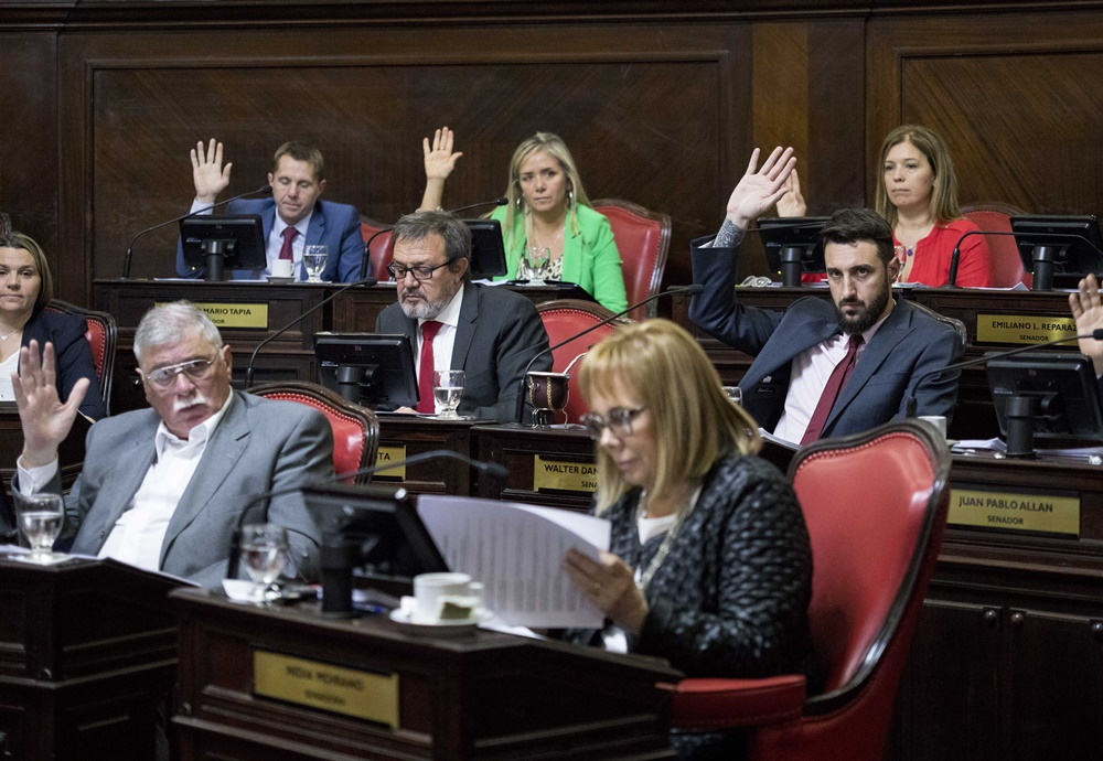 """Senado: Ingresaron 42 pliegos de jueces, fiscales y funcionarios judiciales propuestos por Vidal, la oposición tildó de """"erróneo y poco prudente"""""""