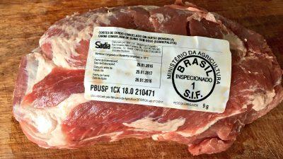 """Denuncian la importación de carne de cerdo congelada que luego se vende como """"fresca"""""""