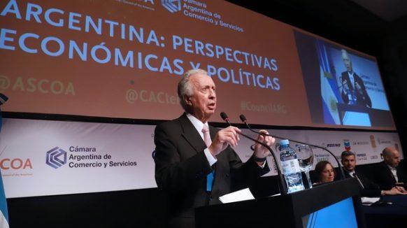 """¡Raro! La Cámara Argentina de Comercio y Servicios a favor del """"ajuste"""" en el presupuesto impulsado por el gobierno nacional"""