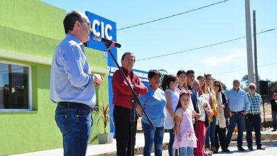 "Monte Hermoso inauguró su ""Centro Integrador Comunitario"""