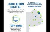 El 70% de los municipios de la provincia cuentan con la jubilación digital