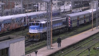 Paro de trenes de pasajeros el martes por paritarias