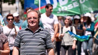 """Día del Maestro: """"No queremos dádivas"""", dijo Miguel Díaz de UDOCBA sobre la promo del Banco Provincia"""