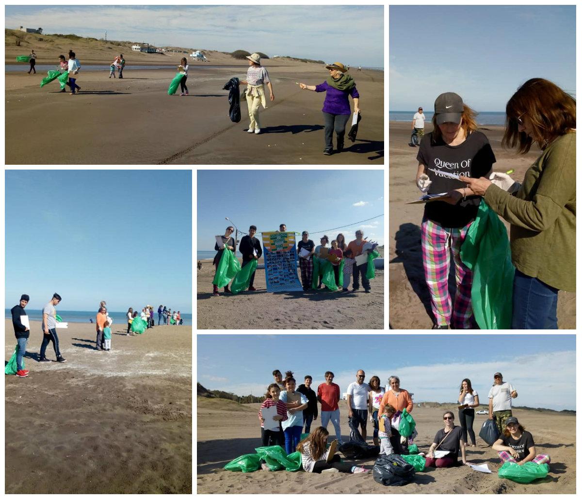 """Monte Hermoso dijo presente en el """"Día Internacional de Limpieza de Playas"""""""