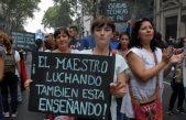 "Los docentes bonaerenses volverán a parar 48 horas por ""salarios dignos"""