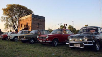 """Comienza una nueva edición del """"Rally Autoclásica"""" en Pergamino"""