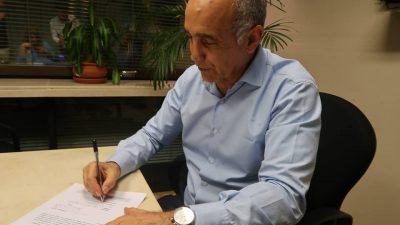Daniel Salvador fue reelegido en la UCR bonaerense y ya pide pista para seguir como vicegobernador