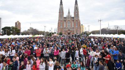 La Plata se vistió de Venezuela por un día