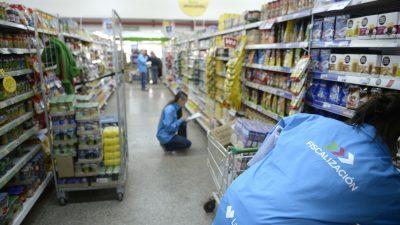 """La Plata / El nuevo equipo de fiscalizadores recorre supermercados para controlar los """"Precios Cuidados"""""""