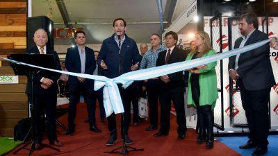 """Julio Garro visitó """"La Plata Construye"""" la muestra de construcción, decoración y amoblamiento más importante de la región"""