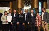 La Plata / Garro y Perechodnik encabezaron la entrega de escrituras sociales para más de 300 familias platenses