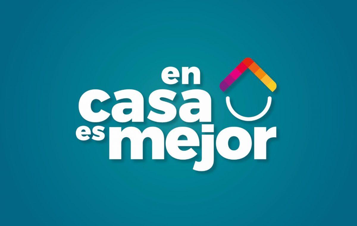 """La Plata / El municipio lanzó el programa """"En Casa es Mejor"""""""