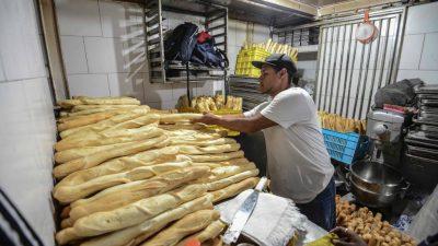 La Costa / El sector de Panaderos complicado por la situación del país