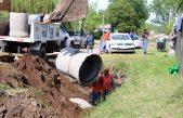 Bolivar trabaja en la eliminación de un canal a cielo abierto