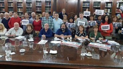Fracasó la paritaria docente: el gobierno no quiso dialogar y levantó la reunión