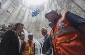 Vidal y Frigerio se mostraron junto en una obra hidráulica que beneficiará a más de 4 millones de personas en Avellaneda