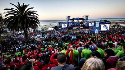 Comienzan los Juegos Nacionales Evita 2018 en Mar del Plata