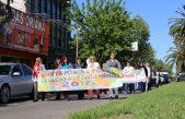 Bolívar realizó la marcha por la inclusión en el día de la Salud Mental