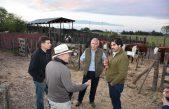 """""""Sin la agroindustria la Argentina no sale"""", dijo Sarquis en Carlos Tejedor"""