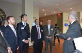 Mosca y una delegación de diputados bonaerenses visitaron la sede de la ONU en Nueva York