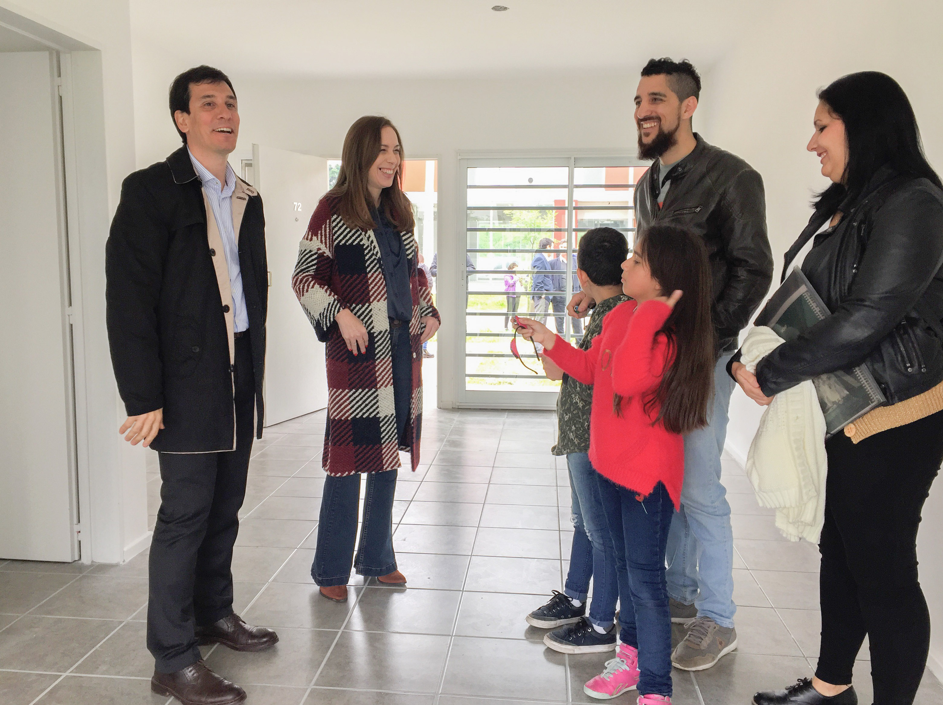 Vidal entregó 119 viviendas del programa miCASA en Ituzaingó