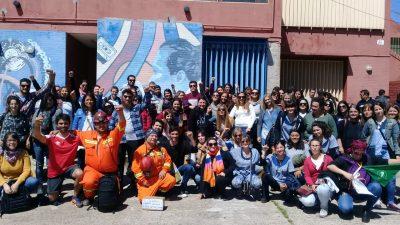 Mineros de Rio Turbio se encontraron con trabajadores de Astillero