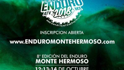 """Desde el viernes comienza el """"Enduro de Monte Hermoso"""""""