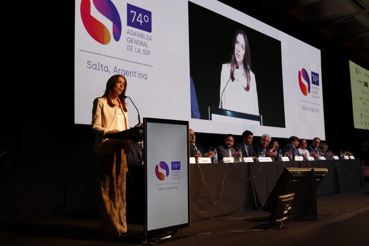 Vidal desde Salta tildó al poder judicial de corrupto