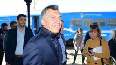 """Sin previo aviso Macri visitó Olavarría y afirmó: """"Veo a la ciudad en movimiento"""""""
