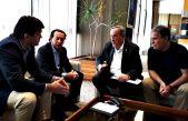 """Lunghi se reunió con los ministros de Producción de Provincia y Nación para buscarle un futuro a """"Metalúrgica Tandil"""""""