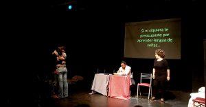 "Llega a La Plata ""Sordoyentes"" la obra de Teatro en lengua de señas"