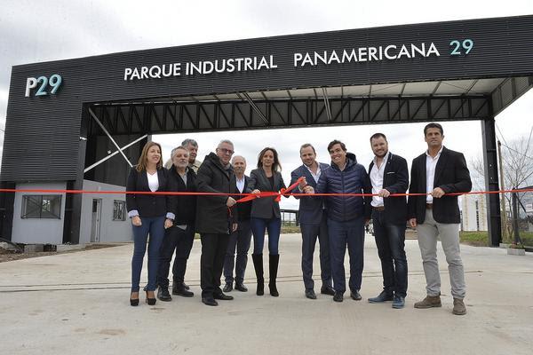 """Tigre inauguró el Parque Industrial """"Panamericana 29"""""""