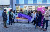 En Morón fomentan la diversidad sexual con pintadas a bancos de las plazas