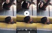 Increíble: Un chico se cayó a las vías y quedó con el cuello atrapado entre el andén y el tren pero se salvó
