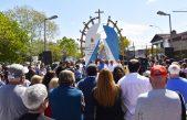 General Rodríguez inauguró un monumento a la Virgen de Luján en conmemoración a la pelegrinación
