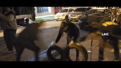Tigre / Detuvieron a una banda de ladrones de neumáticos