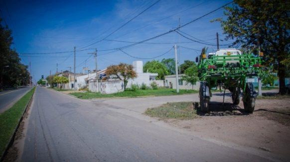 En Saliquelló prohibieron circular con equipos de fumigación terrestre dentro del casco urbano