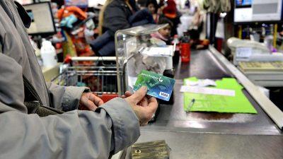 Hasta diciembre seguirán los descuentos del 50% en supermercados para clientes del Banco Provincia
