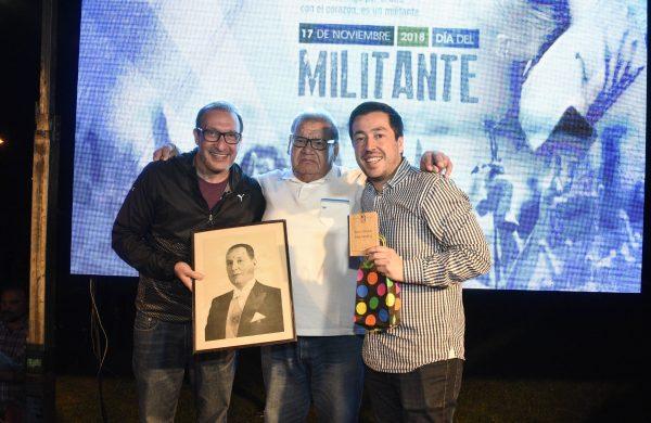 Nardini y Vivona encabezaron el Día del Militante Peronista en Malvinas Argentinas