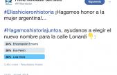 """San Isidro / Cuatro mil vecinos se sumaron a la campaña """"Ellas Hicieron Historia"""""""