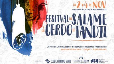 """La cuna del salamín esta de fiesta: Tandil celebra el primer """"Festival del Salame y del Cerdo"""""""