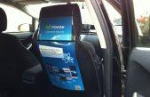 Los taxis podrán tener publicidad comercial en su interior, techo y vidrio trasero en la ciudad de La Plata