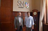 Passaglia y el Ministro de Trabajo de la Provincia se reunieron con Pymes nicoleñas