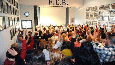 Una vez más, docentes de la FEB votaron PARO ante la falta de convocatoria de Vidal a paritarias