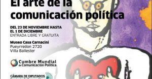 """La Casa Carnacini recibe el """"Arte de la Comunicación Política"""""""