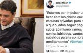 """Jorge Macri anunció """"becas"""" para chicos de escuelas privadas y el PO le saltó a la yugular"""