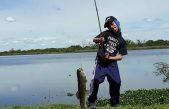 La emocionante historia de Kevin Ponce, un chico discapacitado que encontró en la pesca su mejor terapia