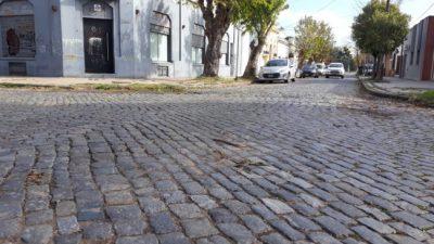 Una ONG platense se opone a la ordenanza que permite sacar los adoquines de la zona céntrica de la ciudad