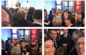 Conocé quien es el intendente bonaerense que estuvo junto al presidente de Francia, Emmanuel Macron